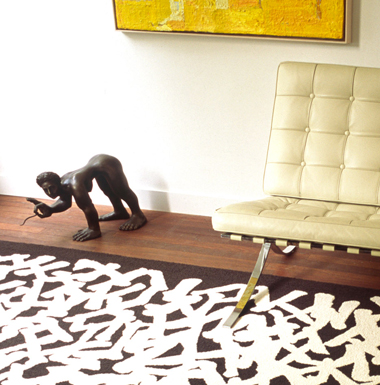 Reflections In Ink Rug Collection